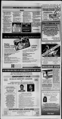 The Palm Beach Post from West Palm Beach, Florida on December 7, 1997 · Page 1113