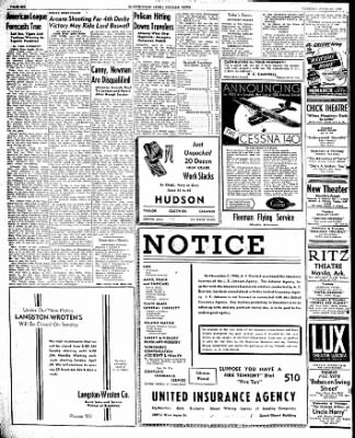 The Courier News from Blytheville, Arkansas on April 23, 1946 · Page 6