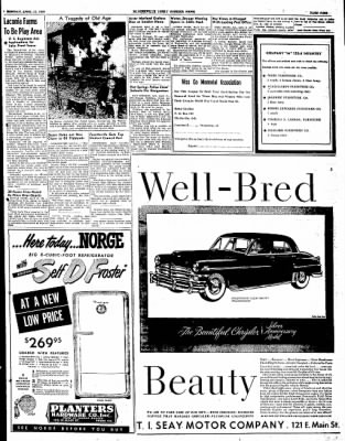 The Courier News from Blytheville, Arkansas on April 11, 1949 · Page 9