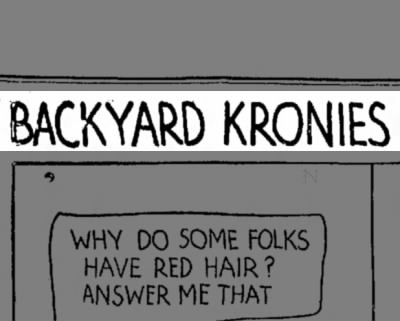 Backyard Kronies