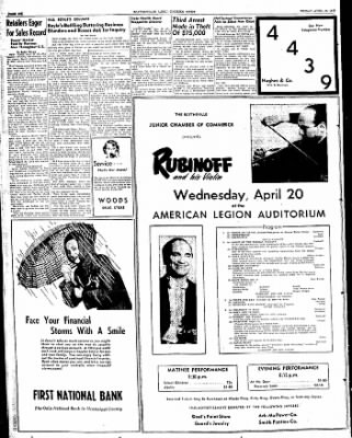 The Courier News from Blytheville, Arkansas on April 15, 1949 · Page 6