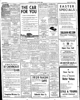 The Courier News from Blytheville, Arkansas on April 15, 1949 · Page 12