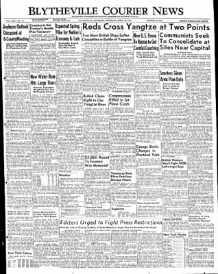 The Courier News from Blytheville, Arkansas on April 21, 1949 · Page 1