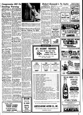 The Manhattan Mercury from Manhattan, Kansas · Page 1