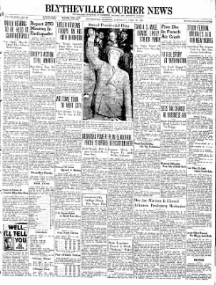 The Courier News from Blytheville, Arkansas on April 20, 1938 · Page 1