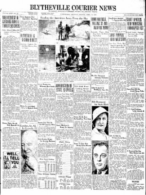 The Courier News from Blytheville, Arkansas on April 25, 1938 · Page 1