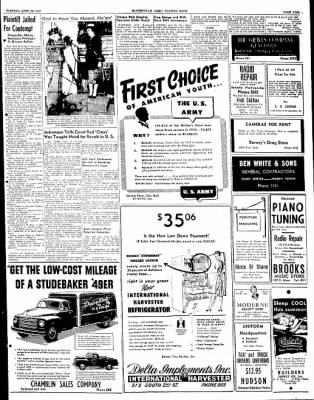 The Courier News from Blytheville, Arkansas on April 26, 1949 · Page 9