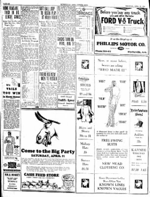 The Courier News from Blytheville, Arkansas on April 19, 1934 · Page 6