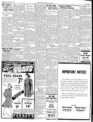 The Courier News from Blytheville, Arkansas on August 23, 1939 · Page 3