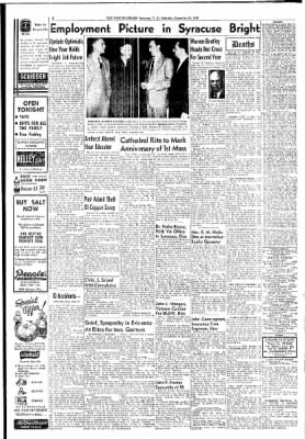the post standard from syracuse new york on december 10 1955 page