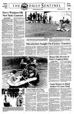 Daily Sitka Sentinel from Sitka, Alaska on April 23, 1990 · Page 1
