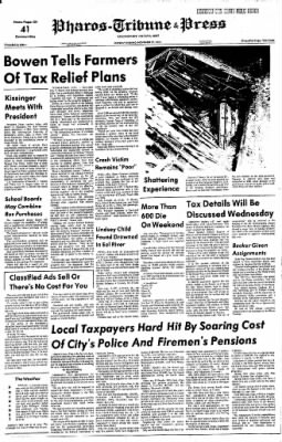 The Logansport Press from Logansport, Indiana on November 27, 1972 · Page 1