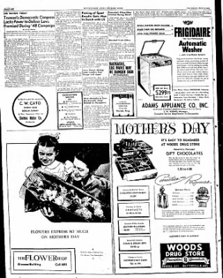 The Courier News from Blytheville, Arkansas on May 5, 1949 · Page 6