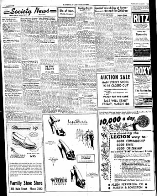The Courier News from Blytheville, Arkansas on March 1, 1949 · Page 4