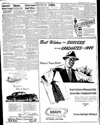 The Courier News from Blytheville, Arkansas on May 11, 1949 · Page 12