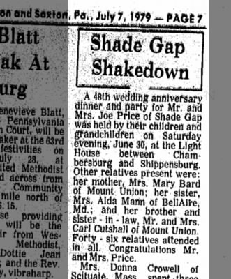 Ruth Bard Price-Anniversary-TDN, p.7, 7 July 1979