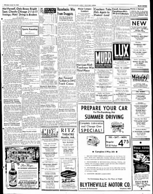 The Courier News from Blytheville, Arkansas on May 13, 1949 · Page 7
