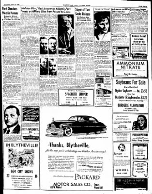 The Courier News from Blytheville, Arkansas on May 16, 1949 · Page 9
