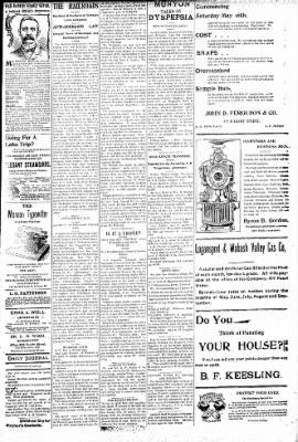 Logansport Pharos-Tribune from Logansport, Indiana on June 10, 1896 · Page 3