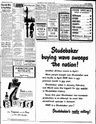 The Courier News from Blytheville, Arkansas on May 19, 1949 · Page 13