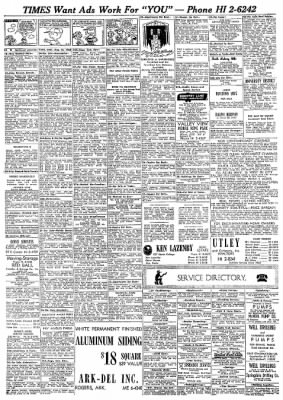 Northwest Arkansas Times From Fayetteville On August 14 1968 Page 33