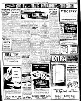 The Courier News from Blytheville, Arkansas on May 24, 1949 · Page 8