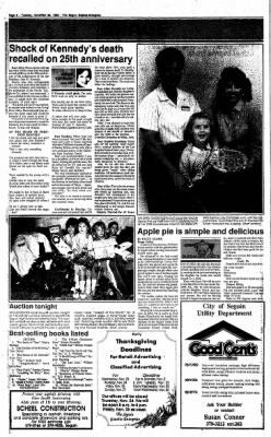 The Seguin Gazette-Enterprise from Seguin, Texas on November 22, 1988 · Page 6