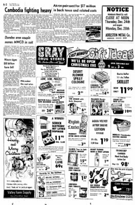 The Daily Reporter from Dover, Ohio on December 23, 1970 · Page 2