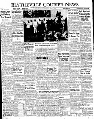 The Courier News from Blytheville, Arkansas on June 14, 1949 · Page 1