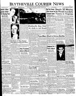 The Courier News from Blytheville, Arkansas on June 18, 1949 · Page 1