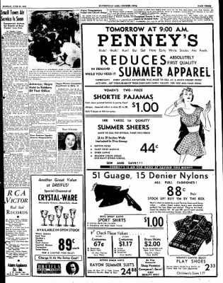 The Courier News from Blytheville, Arkansas on June 20, 1949 · Page 3