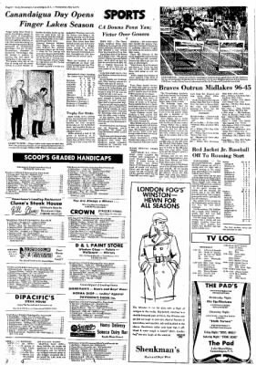 The Daily Messenger from Canandaigua, New York on May 5, 1971 · Page 6