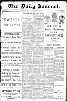 Logansport Pharos-Tribune from Logansport, Indiana on January 16, 1891 · Page 1