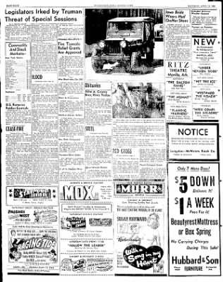 The Courier News from Blytheville, Arkansas on April 19, 1952 · Page 8