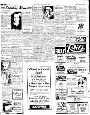 The Courier News from Blytheville, Arkansas on April 25, 1952 · Page 4