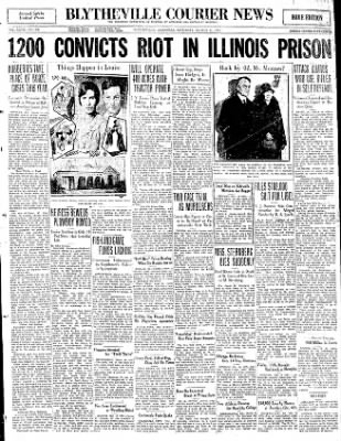 The Courier News from Blytheville, Arkansas on March 14, 1931 · Page 1