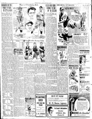 The Courier News from Blytheville, Arkansas on March 17, 1931 · Page 8