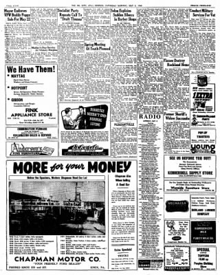 The Oil City Derrick from Oil City, Pennsylvania on May 8, 1948 · Page 4