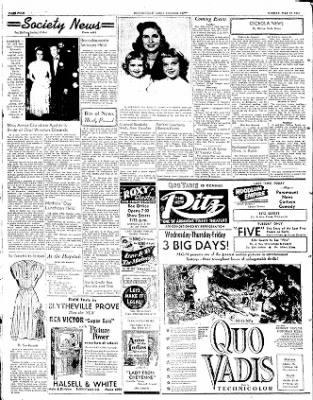The Courier News from Blytheville, Arkansas on May 12, 1952 · Page 4