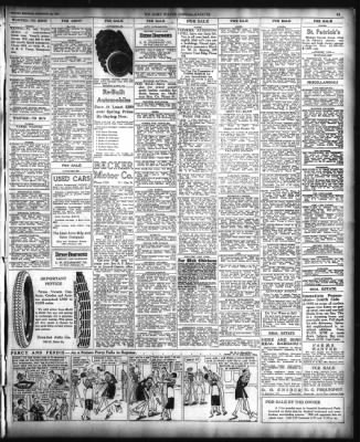 The Fort Wayne Journal-Gazette from Fort Wayne, Indiana on February 23, 1920 · Page 13