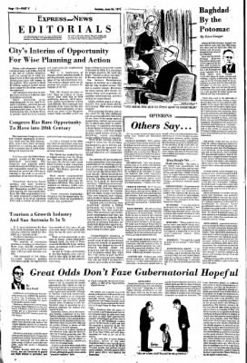 Express and News from San Antonio, Texas on June 24, 1973 · Page 90