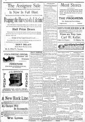 Logansport Pharos-Tribune from Logansport, Indiana on February 7, 1895 · Page 8