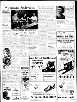 The Escanaba Daily Press from Escanaba, Michigan on December 13, 1955 · Page 30