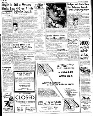 The Courier News from Blytheville, Arkansas on May 20, 1952 · Page 8