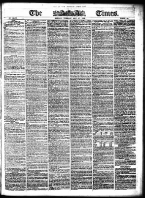 The Times from London,  on May 27, 1856 · Page 1