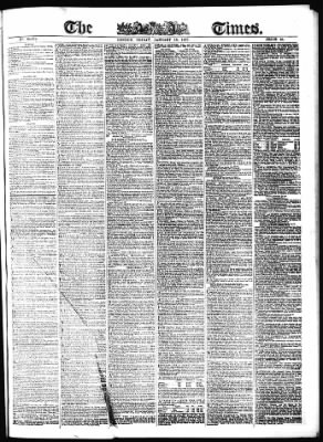 The Times from London,  on January 16, 1857 · Page 1
