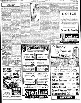 The Courier News from Blytheville, Arkansas on May 21, 1952 · Page 7