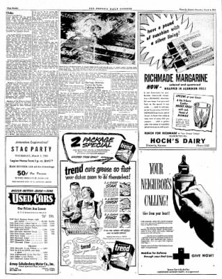 The Emporia Gazette from Emporia, Kansas on March 1, 1951 · Page 6