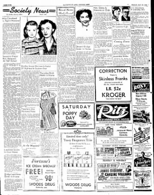 The Courier News from Blytheville, Arkansas on May 23, 1952 · Page 4