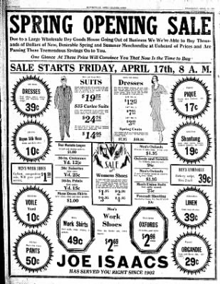 The Courier News from Blytheville, Arkansas on April 15, 1931 · Page 10